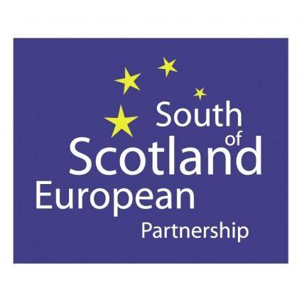 free vector South of scotland european partnership