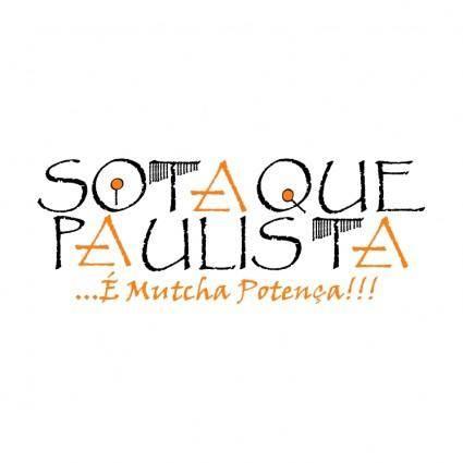 free vector Sotaque paulista
