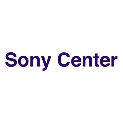 free vector Sony center