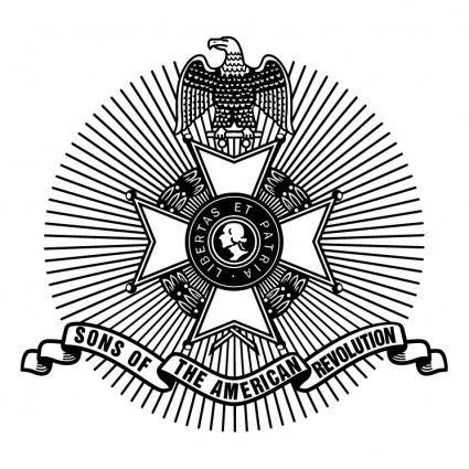 free vector Sons of the american revolution