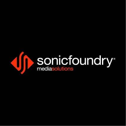 Sonic foundry 1