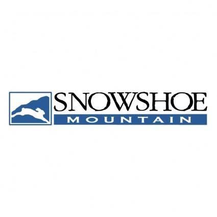free vector Snowshoe mountain 1