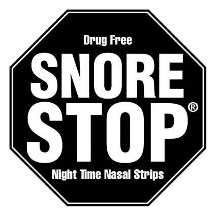 free vector Snore stop