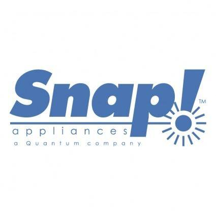 Snap appliances