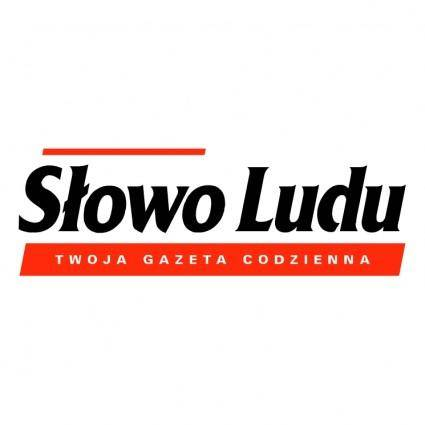 free vector Slowo ludu