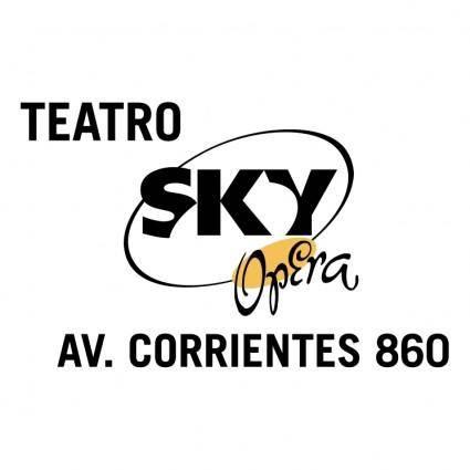 free vector Sky opera