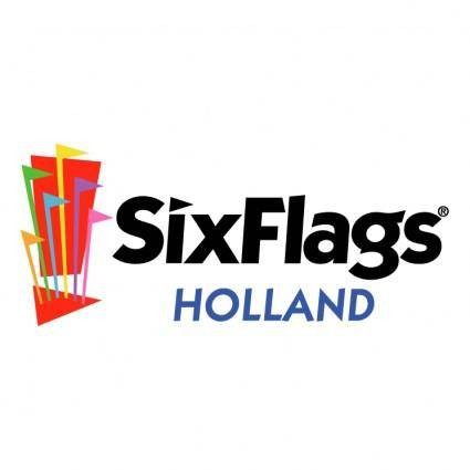free vector Six flags holland 0