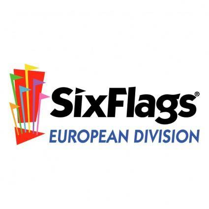 free vector Six flags european division 0