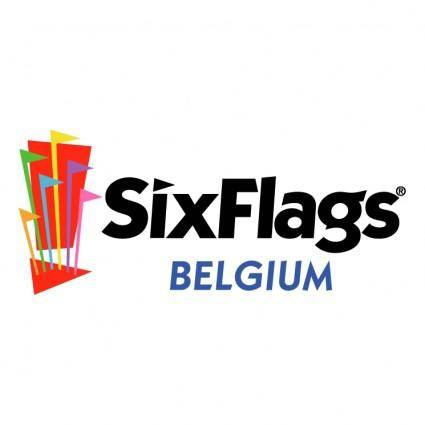 free vector Six flags belgium