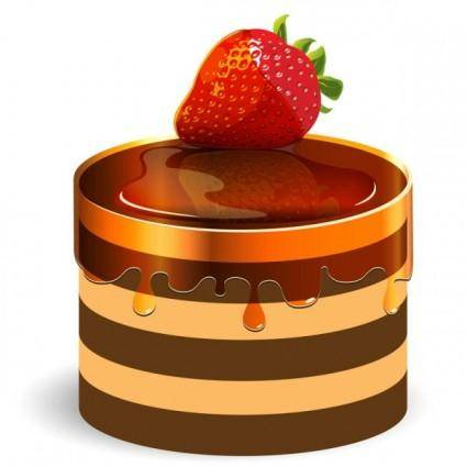 free vector Sweet strawberry jam 03 vector