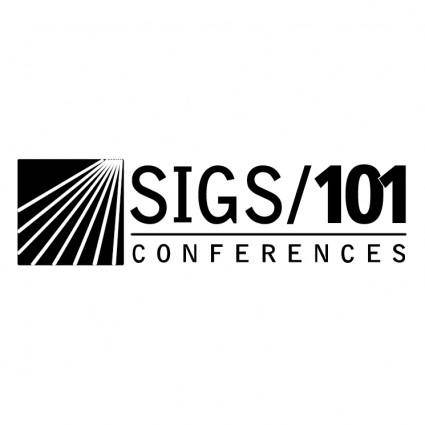 Sigs101 conferences