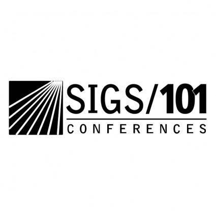 Sigs101 conferences