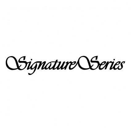 Signature series 0