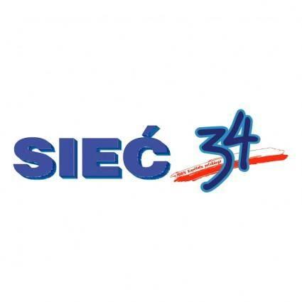 free vector Siec 34