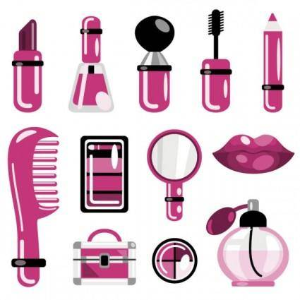 Daily cosmetics 02 vector