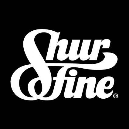 free vector Shurfine
