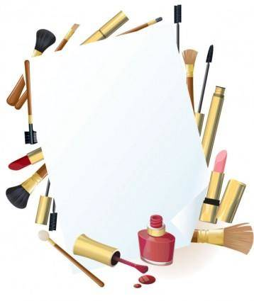 free vector Daily cosmetics 05 vector