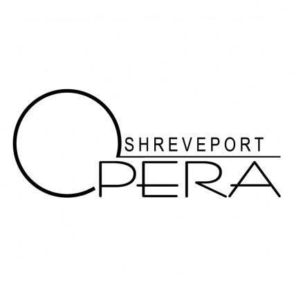 free vector Shreveport opera