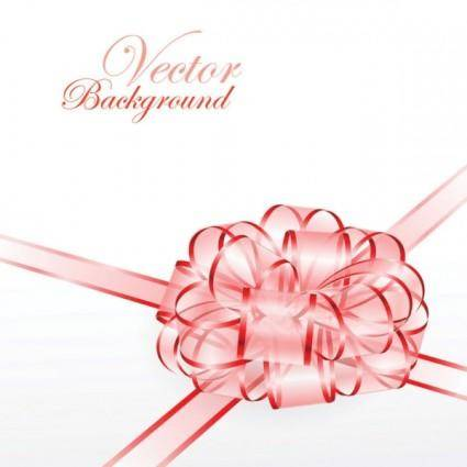 Beautiful ribbon bow 04 vector