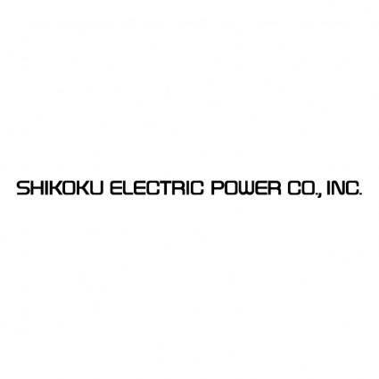 free vector Shikoku electric power