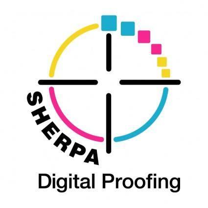 free vector Sherpa digital proofing