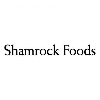 free vector Shamrock foods