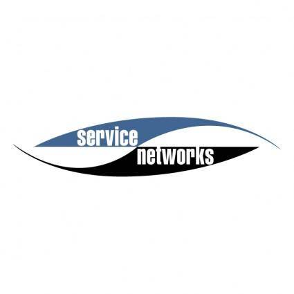 free vector Service networks