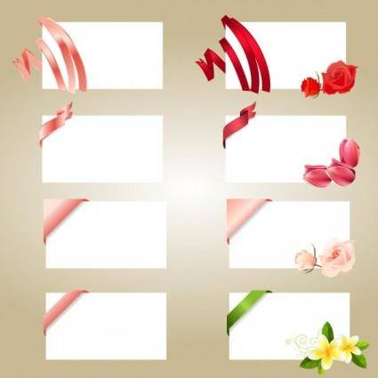 free vector Romantic letter vector