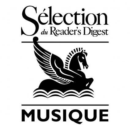 Selection du readers digest musique