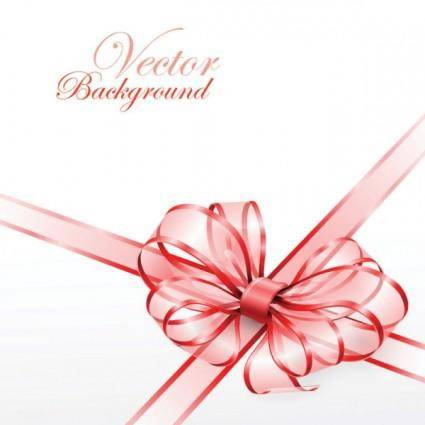 Beautiful ribbon bow 02 vector