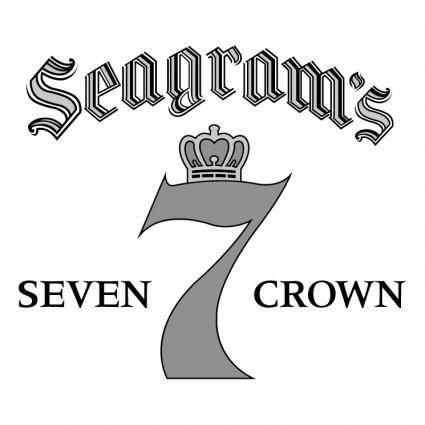free vector Seagrams seven crown