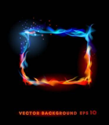 free vector Flame effects 04 vector