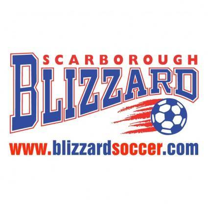 free vector Scarborough blizzard soccer
