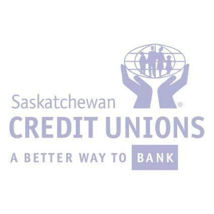 free vector Saskatchewan credit unions