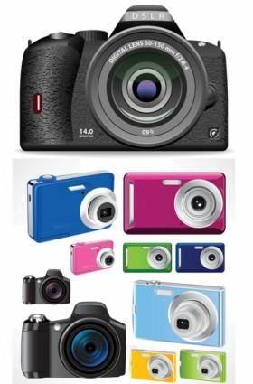 free vector Fashion vector color camera