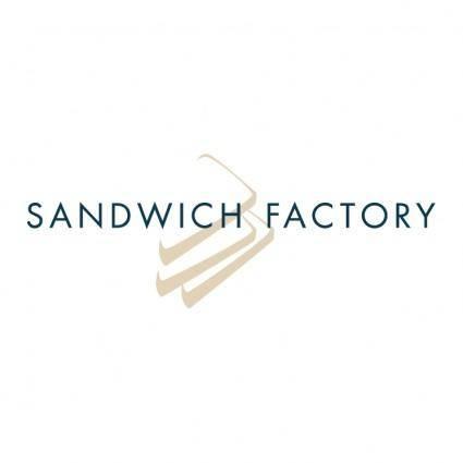free vector Sandwich factory