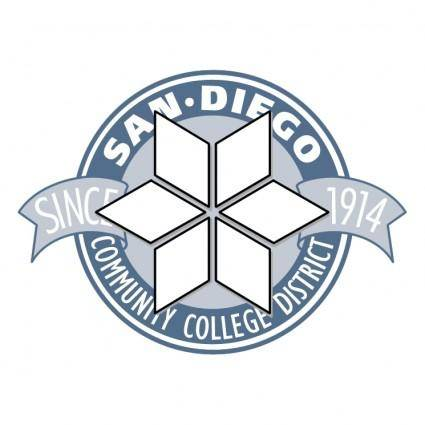 free vector San diego community college district