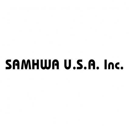 free vector Samhwa usa
