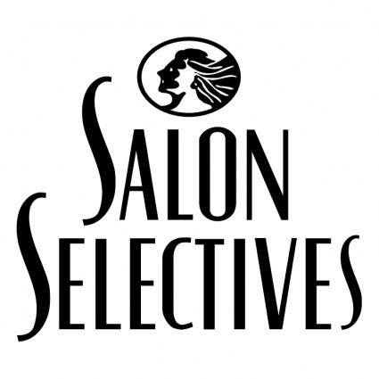 free vector Salon selectives