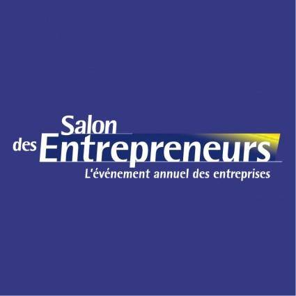 free vector Salon des entrepreneurs