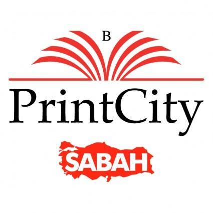free vector Sabah printcity
