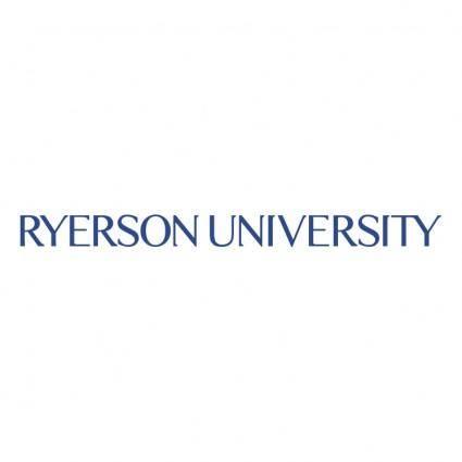free vector Ryerson university 0