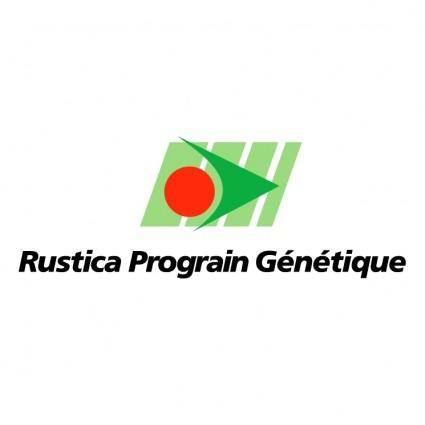 Rustica prograin genetique