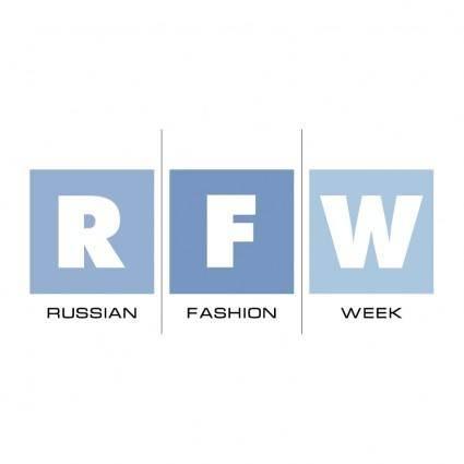 free vector Russian fashion week