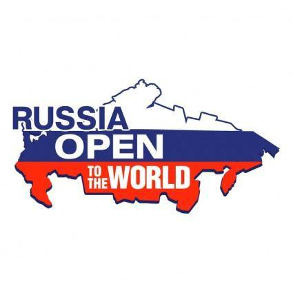 free vector Russia open to the world