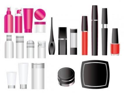free vector Empty vector cosmetic packaging