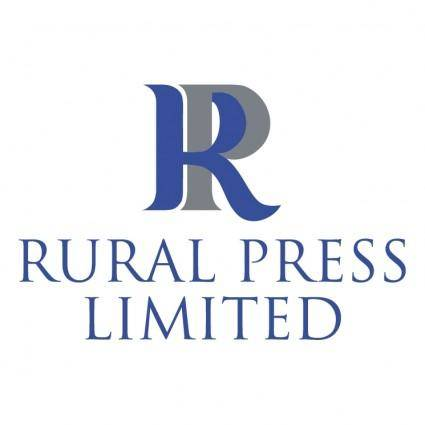 Rural press limited