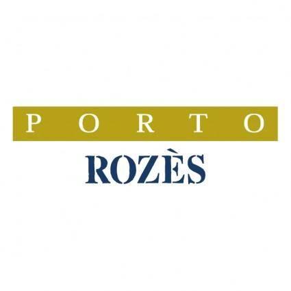 Rozes porto