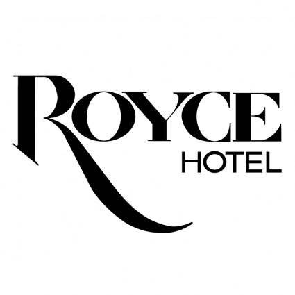 free vector Royce hotel