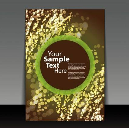 free vector Exquisite cover template 06 vector